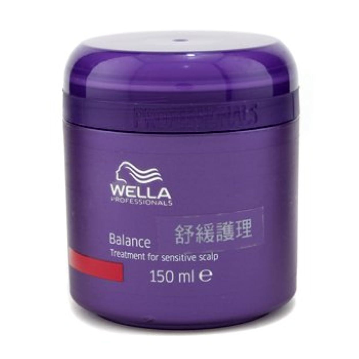 勉強する生む抵抗する[ウエラ] バランス トリートメント 敏感な地肌用 150ml/5oz