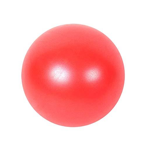 SENDILI Fitness Balls - Gymnastikball 25cm Yoga Ball für Workout, Material PVC, 5 Farben, Rot, 25CM