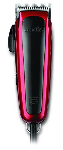 Andis Gentle Groom Andjustable Blade Clipper Kit - Animal/Dog Grooming, Red, RACD (60275)