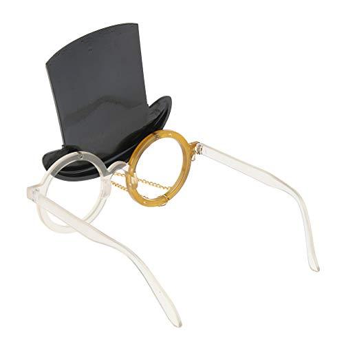 chiwanji Neuheit Zylinder Sonnenbrille Lustige