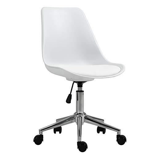 SVITA Eddy Schreibtischstuhl für Kinder Drehstuhl Kinderschreibtischstuhl Weiß