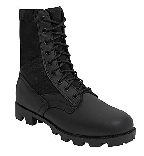 Rothco 8'' GI Type Jungle Boot, Black, 9