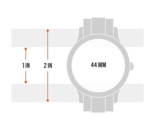 Reloj inteligente para hombre Fossil Q Explorist 3ª generación – Acero inoxidable – Impresionante reloj inteligente con… 3