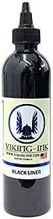 Tattoo Ink. Black Liner 1oz (30ml.) Viking Ink USA Vegan Pigment linnig