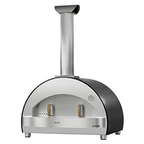 Alfa Forni FX4P-LGRI-T Forno per pizza 4 pizza Grigio senza sottopiano