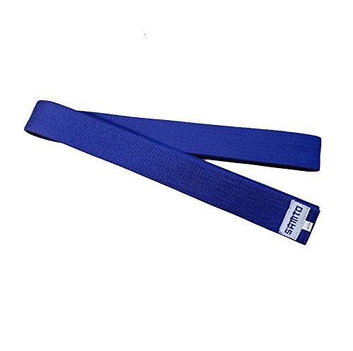 SAMTO Cintures Judo, Karate, Taekwondo y Otras Artes Marciales (Azul)