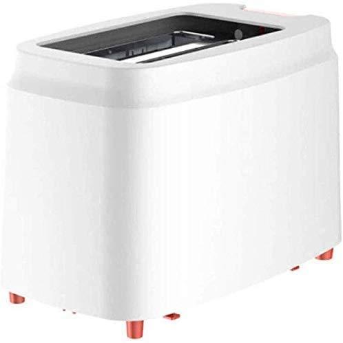 Máquina automática para hacer pan,electrodomésticos,tostadoras,tostadora negra compacta de 2 rebanadas de ranura ancha con control de pan de 9 tonos Función de panecillo/descongelación/cancelación Ban