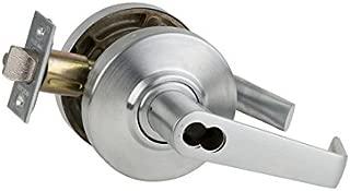 Schlage Commercial AL80BDSAT626 AL Series Grade 2 Cylindrical Lock, Storeroom Function, Saturn Lever Design, Satin Chrome Finish