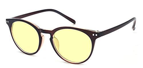 ALWAYSUV Occhiali per computer Occhiali anti luce blu Occhiali per PC, telefono cellulare e TV