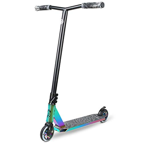 VOKUL BZIT K3 High End Pro Stunt Scooter mit 100mm PU Rollen (Neo)