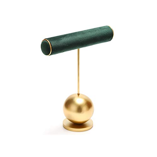 Soporte de exhibición de joyería Exhibición de la joyería Organizador Rack - creativo exhibición de la joyería del soporte del verde esmeralda de la suspensión del sostenedor del soporte for el / los