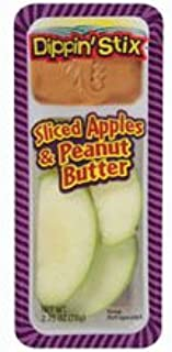 Reichel Foods Sliced Apple with Peanut Butter Dippin Stix, 6 count -- 6 per case.