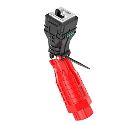 Plegable del tubo de agua del grifo Llave de la herramienta 18 en 1 pipa inglesa ajustable Llave de Fontanería Fontanería WC Cocina Repairment