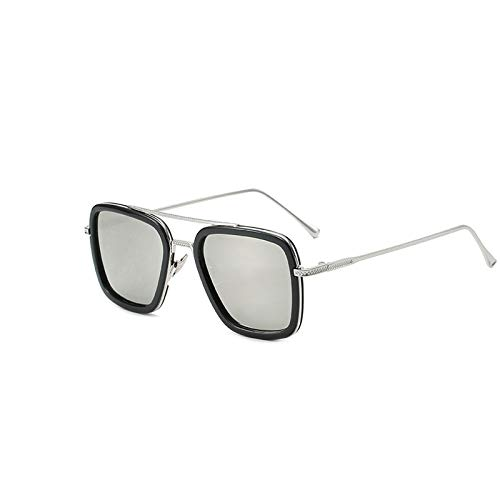 weichuang Gafas de sol cuadradas para pesca, deportes al aire libre, gafas de pesca, gafas deportivas (color: 124D)
