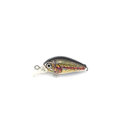 WFBD-CN Boîte de pêche Artificial Leurre 4cm 4 G Appâts artificiels Mini Lure for Pike Basse Truite Dur Lure Mini Crank Bait Les engins de pêche (Color : Type6, Size : 5pcs)