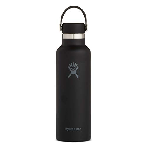 Hydro Flask Skyline Series Water Bottle, Flex Cap - 21 oz, Black