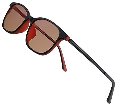 Color Blind Glasses for Men/Women - Premium High Contrast Colorblind...