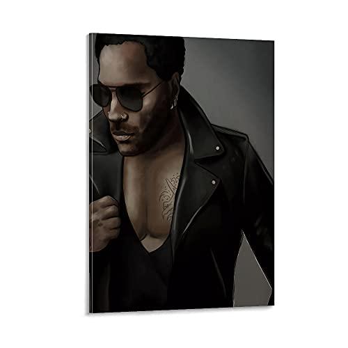 ZRCC Póster de película con diseño de hombre guapo en gafas de sol, 30 x 45 cm