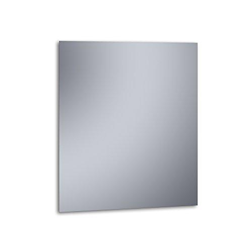 """Kristaled Basic """"L"""" 70x80 cm (Colgador Especial focos Pinza) Espejo, Cristal, Plateado, 70x80x3 cm"""