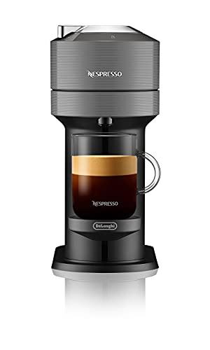 De'Longhi Nespresso Vertuo Next ENV120.GY - Macchina per caffè espresso a capsule, 1500W, grigio/nero