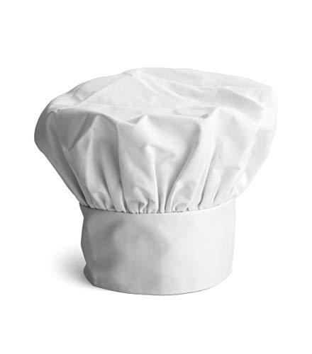 Joeji's Kitchen 3 Stück Poly Baumwolle Kochmütze Kochhaube verstellbar elastische, Erwachsenen Chef Hüte Chef Cap
