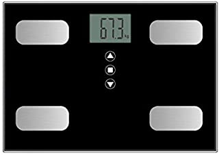 Scale Multipurpose Body Fat Scale Maximum Load-Bearing 150Kg Metal Pull Silk LCD Display Mini Weight Scale (Color : Pink, ...