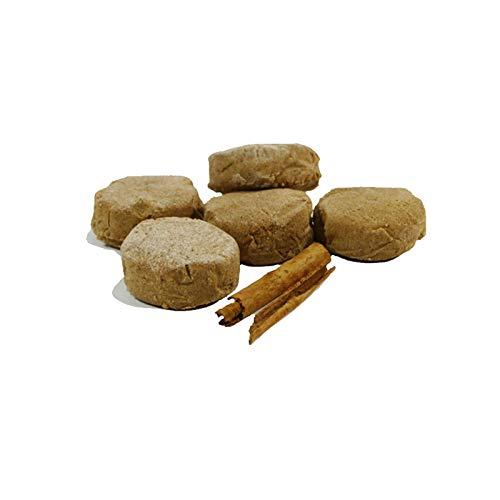 Zimt Polvorones - Schachtel mit 500 g - Hergestellt in Medina Sidonia - Nichte von Las Trejas (1 Schachtel)