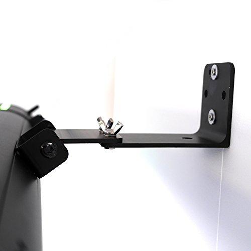 VASNER Appino BEATZZ Infrarotstrahler schwarz, dimmbar 2000 Watt mit Bluetooth, LED Backlight Licht, Musik-Lautsprecher Außenbereich, Ultra Low Glare - 5