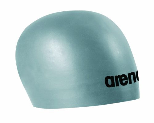 Arena 3D Race Swim Cap, USA Silver/Black, Medium