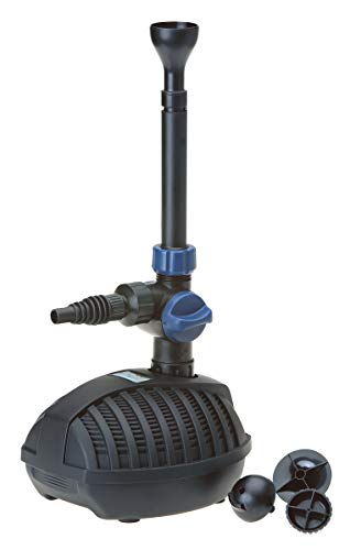OASE 57400 Wasserspielpumpe Aquarius Fountain Set 1500 | Springbrunnenpumpe | Springbrunnen | Teich