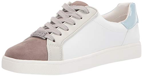 Circus by Sam Edelman Womens Devin Sneaker, White Grey Blue,6