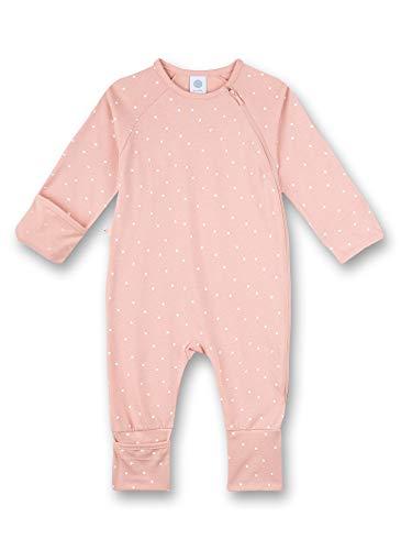 Sanetta Baby-Mädchen Strampler rosa Kleinkind-Schlafanzüge, Silver pink, 080