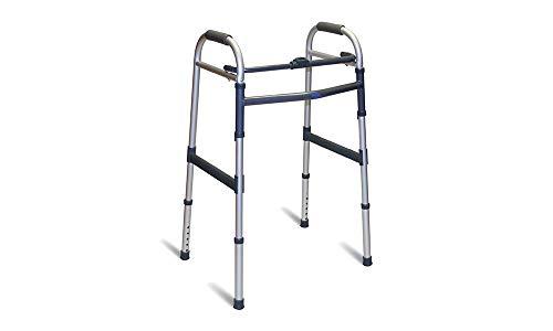 Invacare qa-00381/01 - andador sin ruedas fijo plegable ⭐