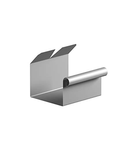 Kastendachrinnenverbinder NW 68 Aluminium