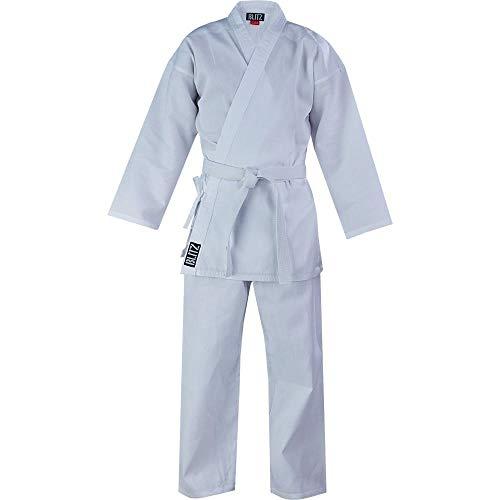 Blitz Lightweight, Uniforme da Karate Bambino, Bianco, 12