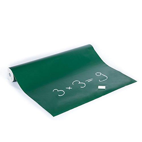 haga-Wohnideen.de bordfolie groen voor krijt, 45 cm breed, zelfklevend (per strekkende meter)