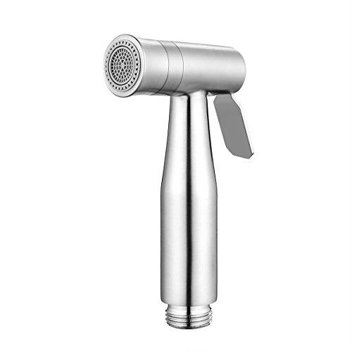 2 Modos Cabeza de Bidé de Mano Shattaf Pulverizador, AOZBZ Acero Inoxidable Bidet de Ducha de Baño Spray Faucet G1/2 Conectore
