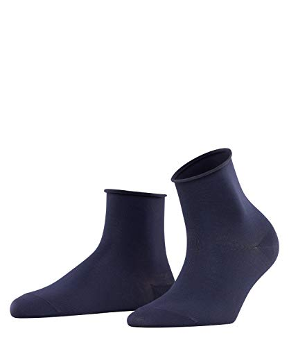 FALKE Damen Cotton Touch Socken, Blau (Dark Navy 6379), 39-42