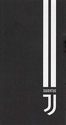 Juventus FC Telo in Microfibra, Bianco/Nero, 90x170