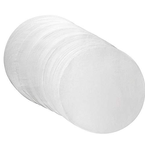 Praktisches Burgerpapier für perfekte Burger Patties | 250 Stück Wachspapier 15 cm Durchmesser | Hamburger Papier gewachst zum Grillen Braten| Antihaftpapier | Premium Grillzubehör