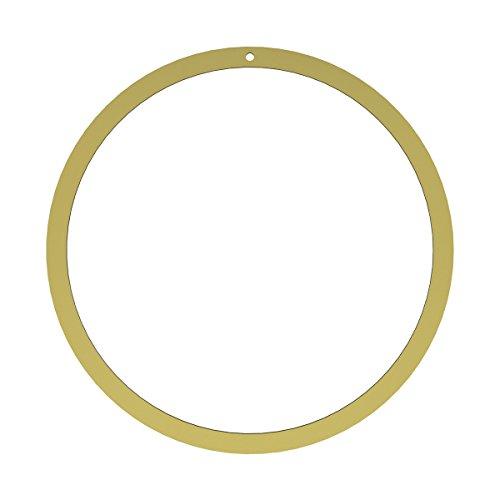 Cooee Design Wreath 40cm Brass