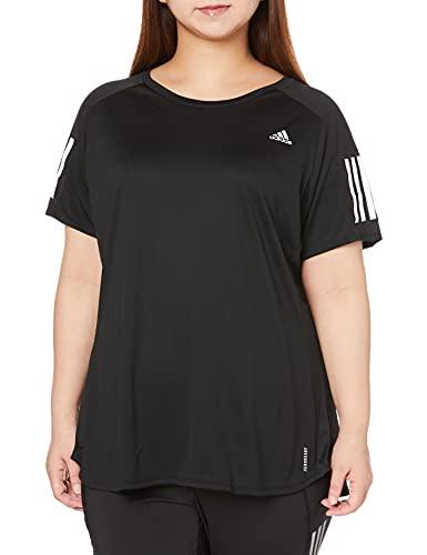 adidas Damen T-Shirt Own The Run, Black, S, FS9830