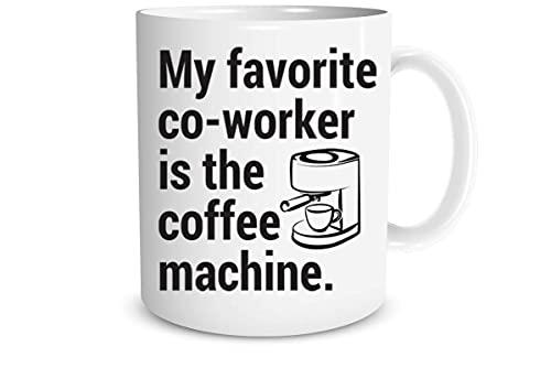 Moi Ulubieni Współpracownicy To Ekspres Do Kawy Śmieszny Kubek Do Kawy Kubek Do Kawy B
