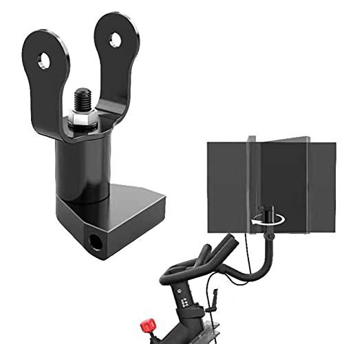 Richolyn Monitorhalterung Tisch Langlebig Pivot Für Peloton Fahrrad-Bildschirm, 360 Grad Verstellbar, Luftfahrt-Aluminium-Bildschirmeinsteller Geeignet Für Peloton-Fahrräder, Heimtrainer-Zubehör