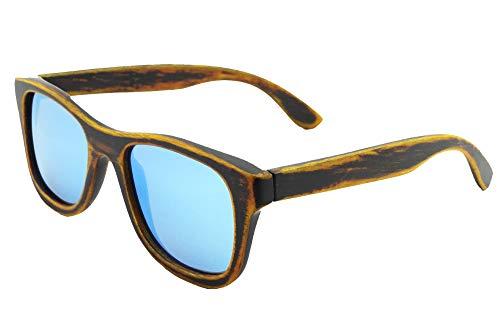 SHINU Gafas de sol de Madera con Lentes Polarizadas Gafas de Sol Hecha