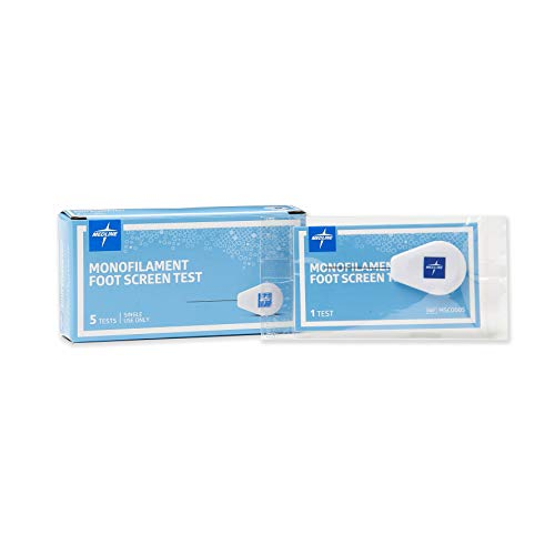 Medline Monofilament Foot Screen Test (Pack of 5)