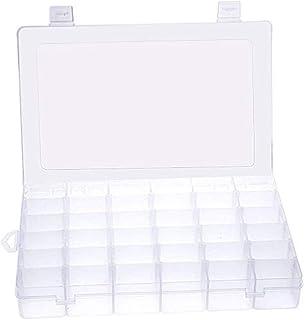 パーツボックス パーツケース 収納ボックス 小物収納 釣り収納 36分仕切り小物入れ アクセサリー収納 透明ボックス 雑貨入れ