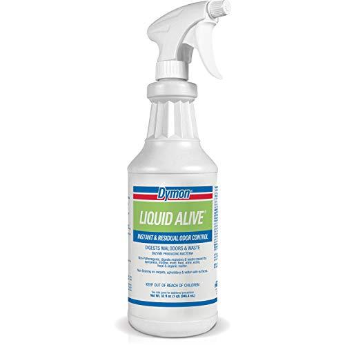 Dymon-33632 Liquid Alive Instant Odor Digester,White, 30-40 ounces