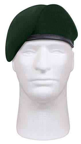 Rothco Gi Type Inspection Ready Beret, Green, 7.5