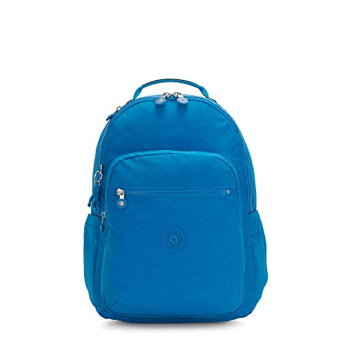 Kipling Seoul Large 15' Laptop Backpack Methyl Blue